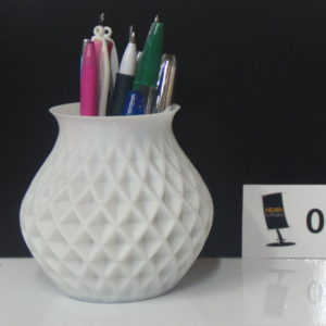 Porte crayon - impression 3D - Hemasupports